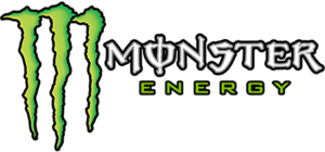 Monster Energy banner logo