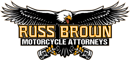 Russ Brown Motorcycle Attorney logo